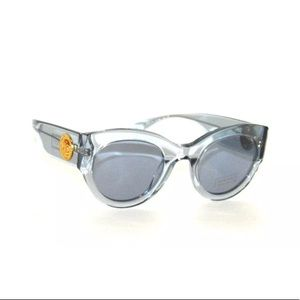 Versace Sunglasses 4353 Transparent Frame
